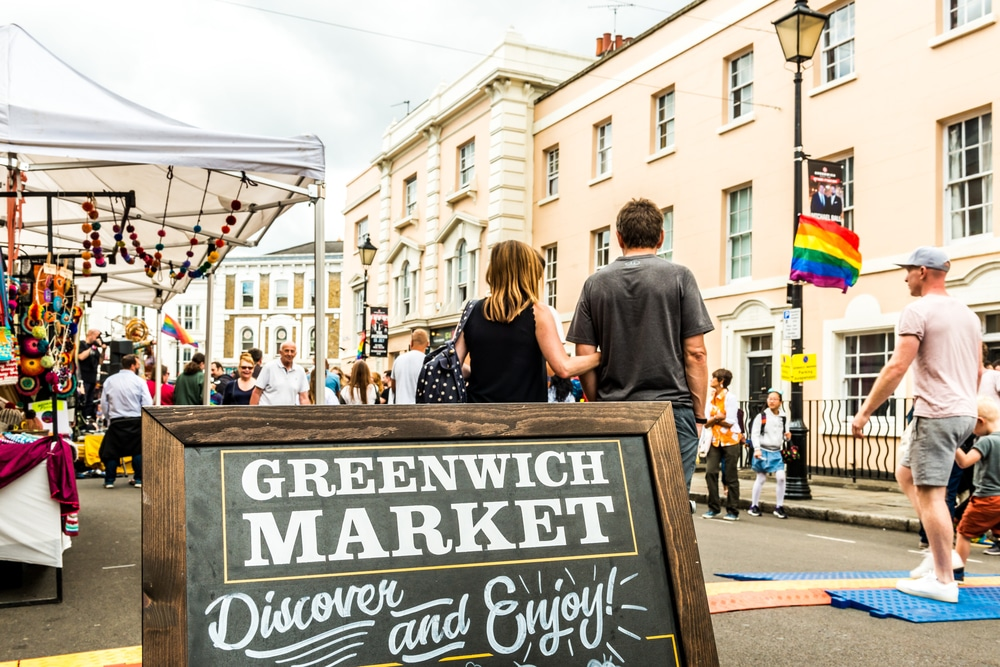 Greenwich Market reopened