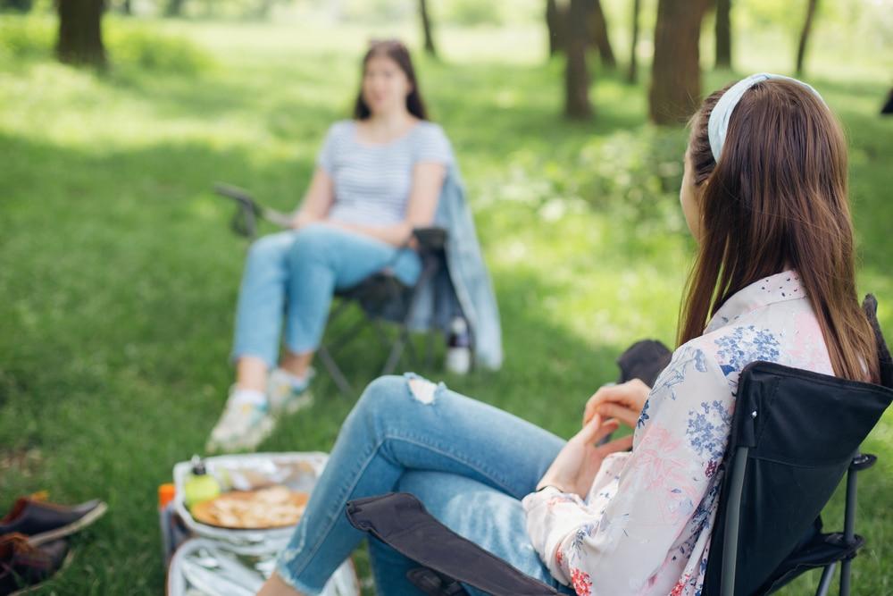 Outdoor socialising