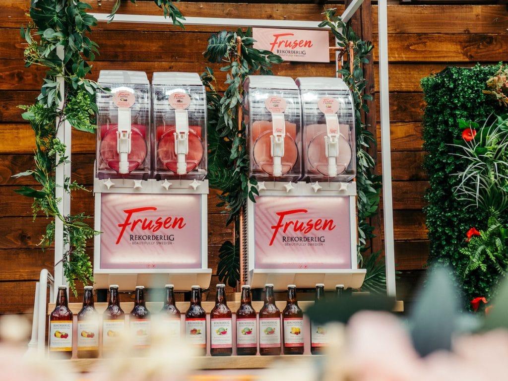 Rekorderlig Frozen Cider Slushies