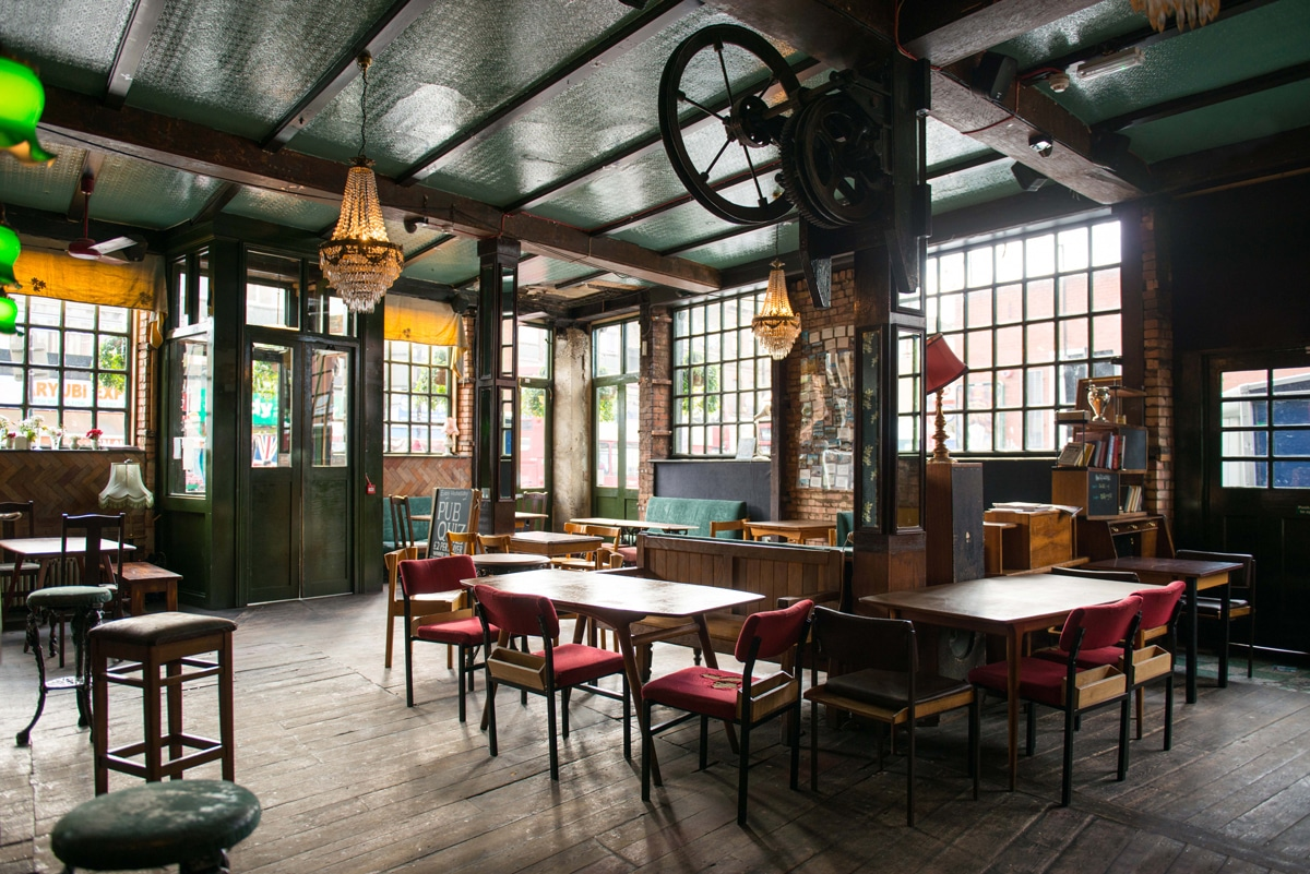 The Old George Pub Bethnal Green Interior