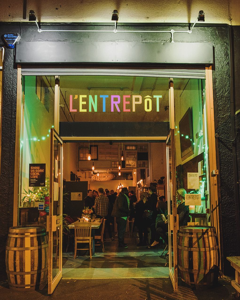 L'Entrepot Wine Bar East London