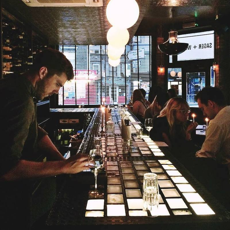 London Wine Bars - Sager and Wilde