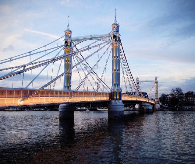 Albert Bridge, London, Thames