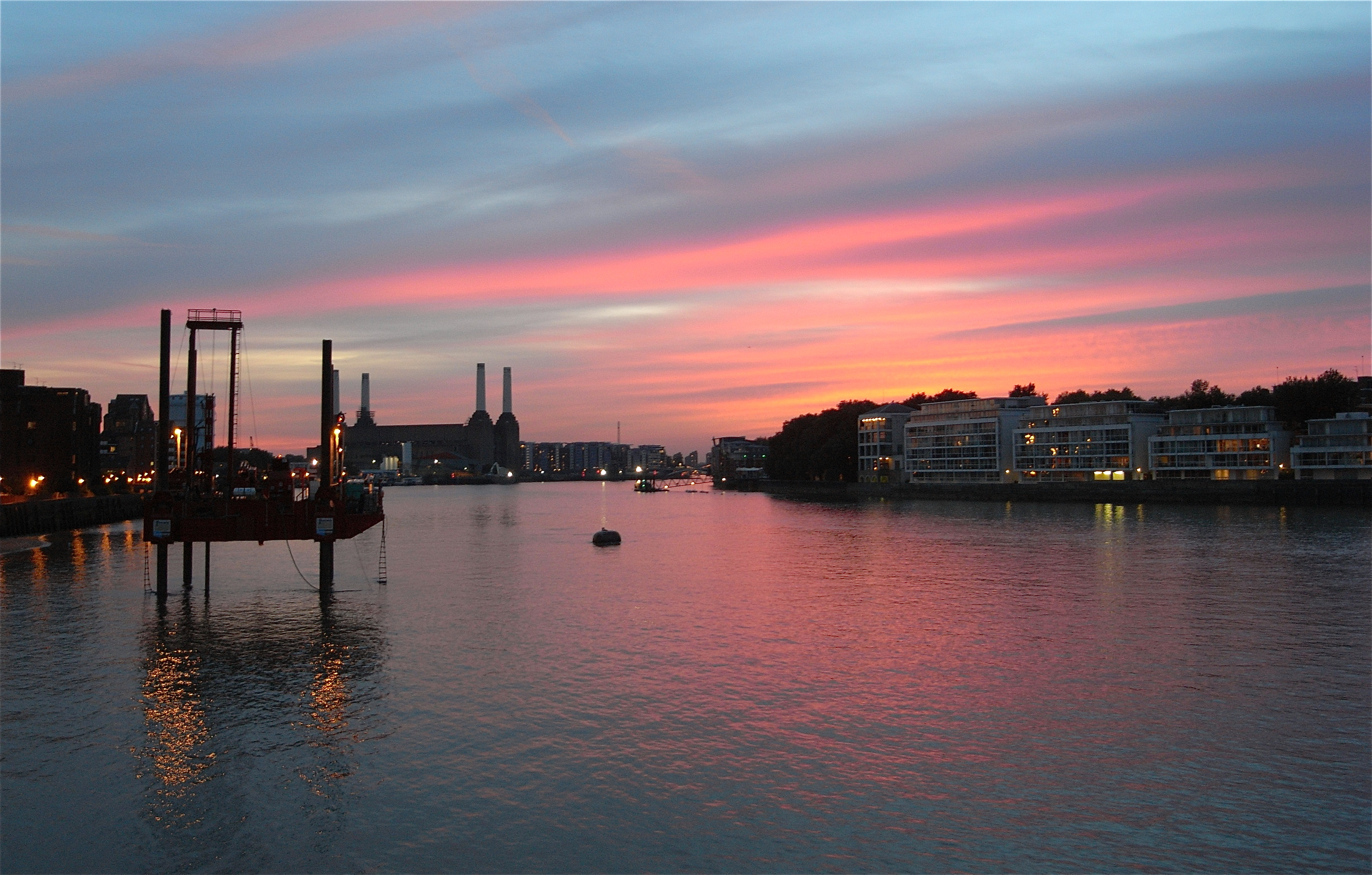 Two-thirds of London's drinking water comes from the Thames. Delicious.