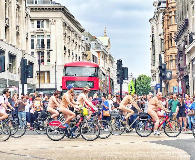Naked Bike Ride London