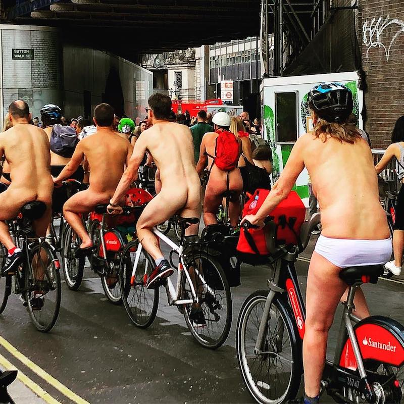 Naked London Riding Bikes