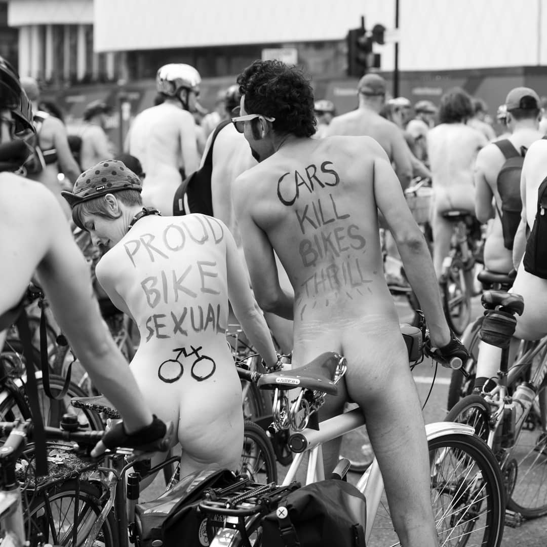 Proud Bike Sexual Naked