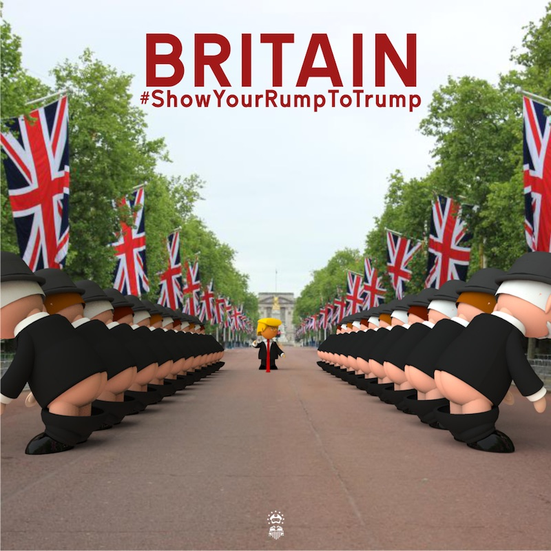 Show Your Rump To Trump