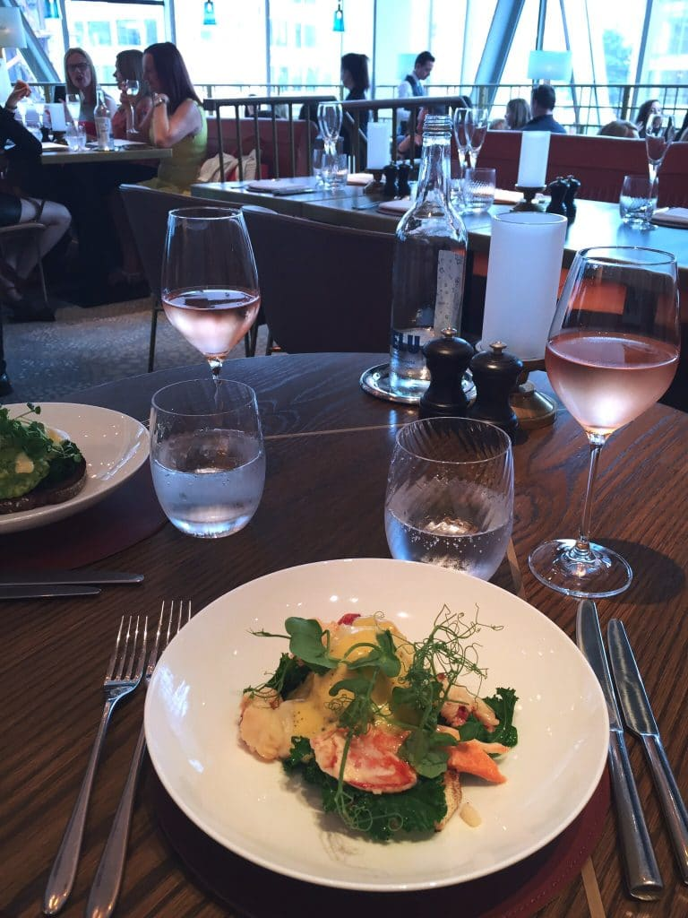 Bottomless brunch at Aster, Victoria