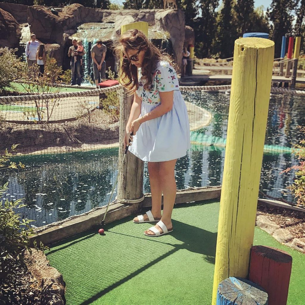 Crazy Golf at Sidcup London