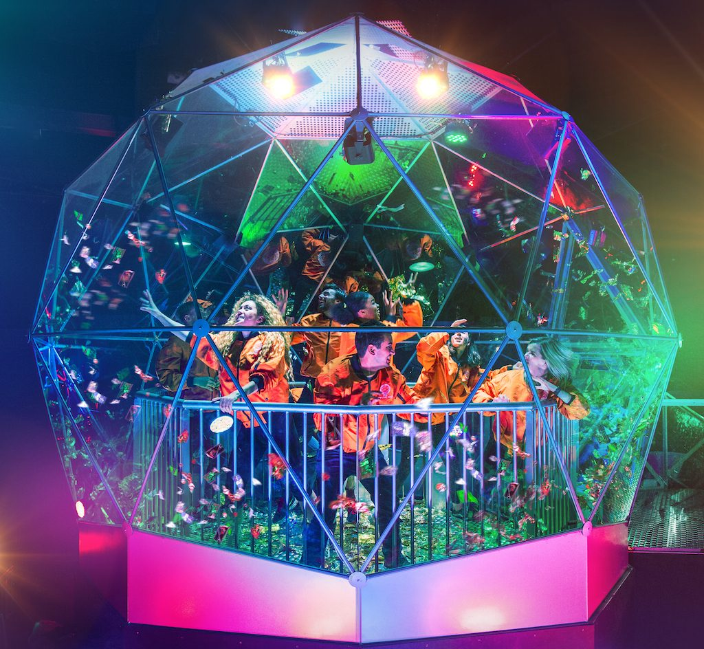 Crystal maze dome London