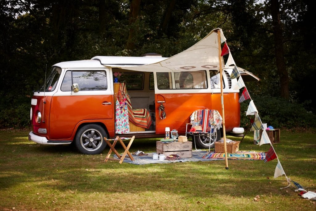 Hire A Camper Van in London