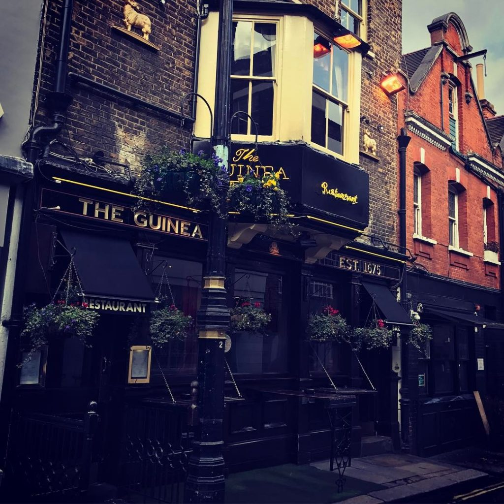 Oldest pubs in London - The Guinea, Mayfair