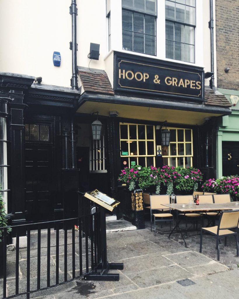 Oldest pubs in London - Hoop and Grapes, Aldgate