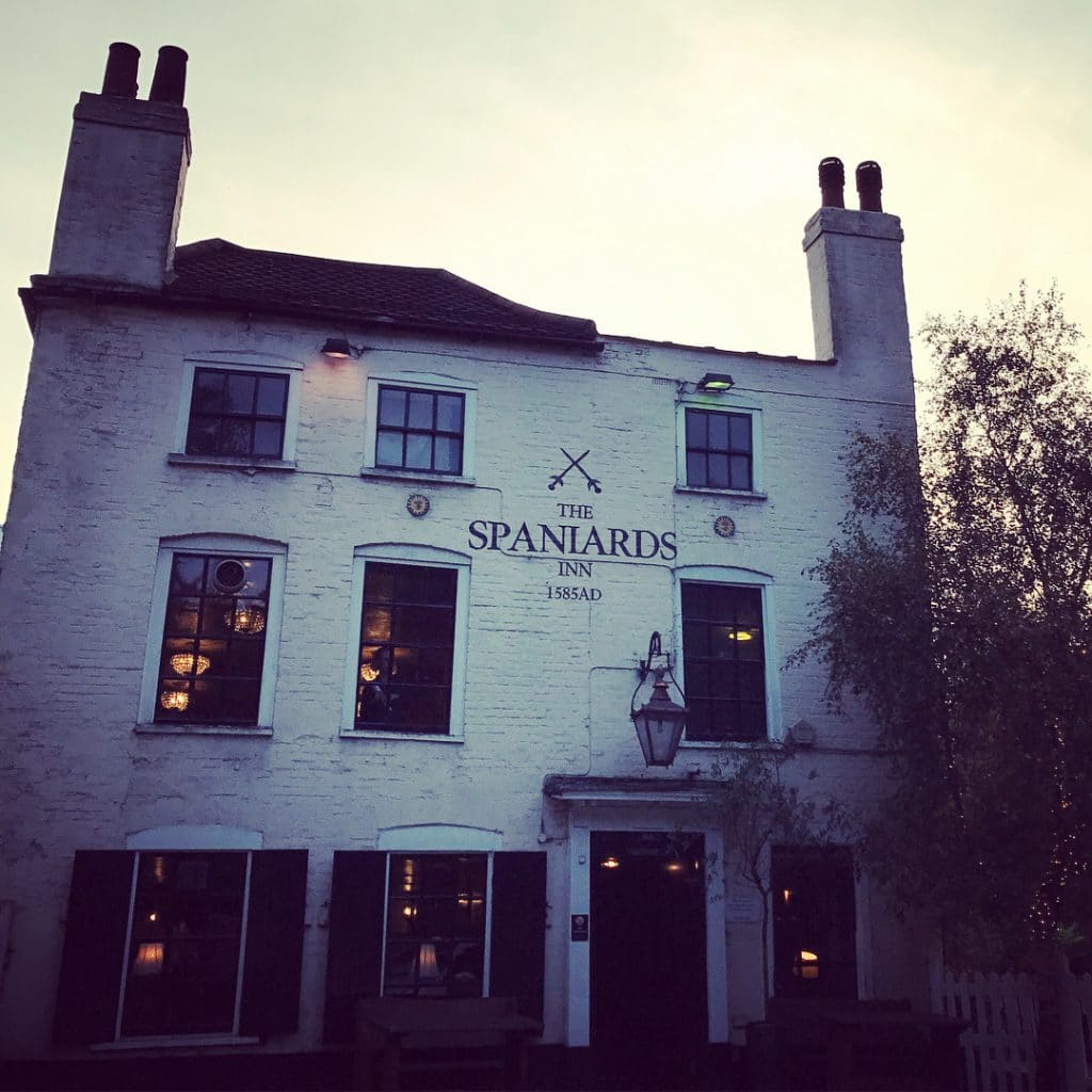 Oldest pubs in London - The Spaniards Inn, Hampstead