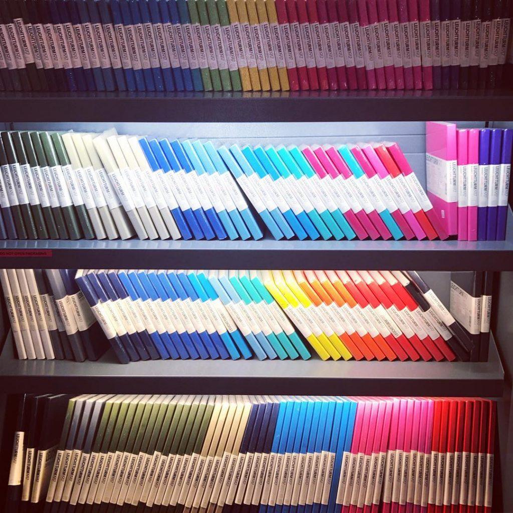Coloured Notebooks Stationery