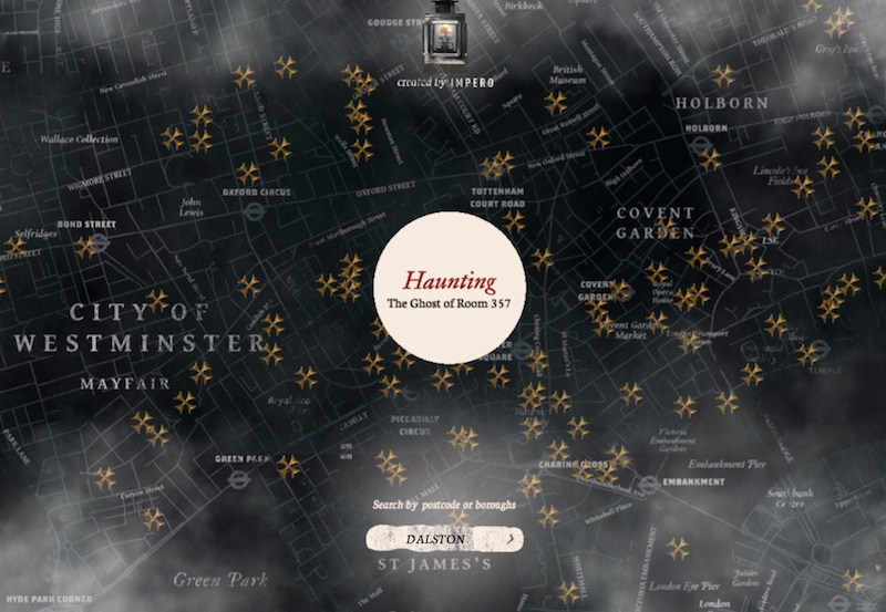 Haunting Map of London
