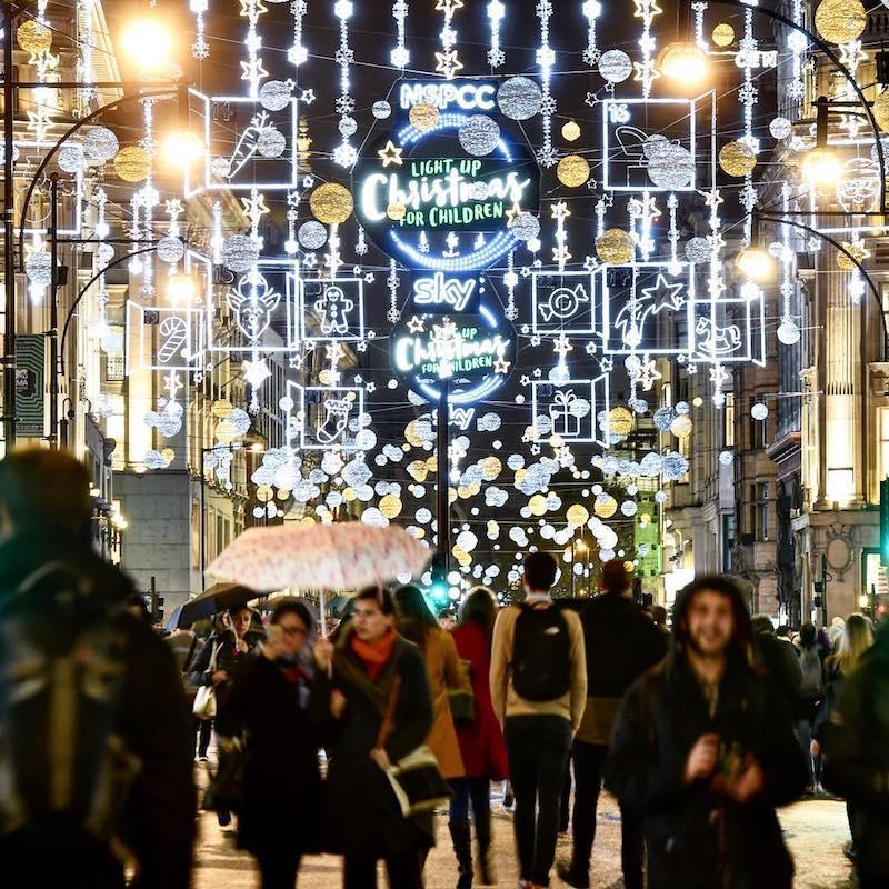 Oxford Street Christmas Lights, London