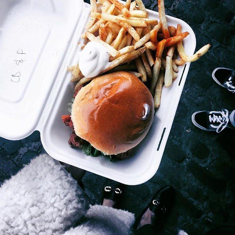 Winterville Chicken Burger Mother Clucker