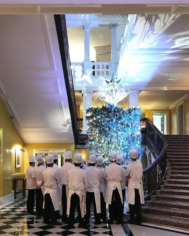Claridges Christmas Tree Karl Lagerfeld