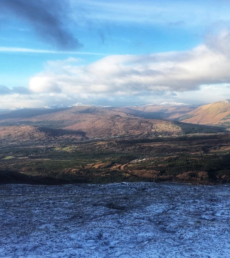 Nevis Range view