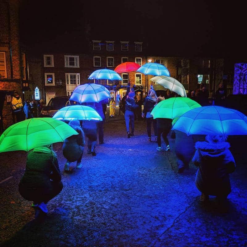 Lumiere London, Umbrella Project
