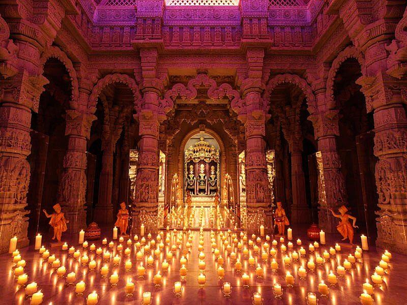 Diwali London BAPS Mandir Neasden