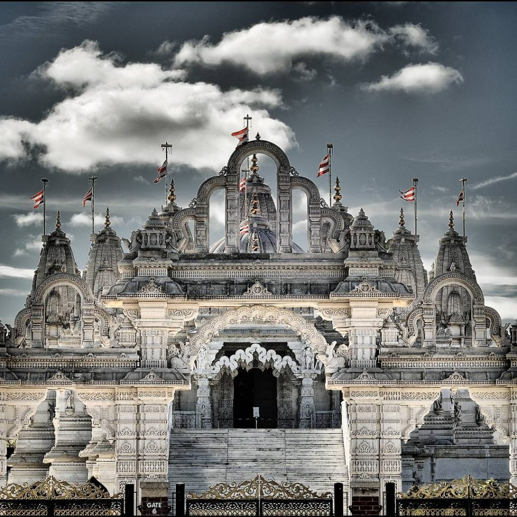 Hindu Temple London Visit