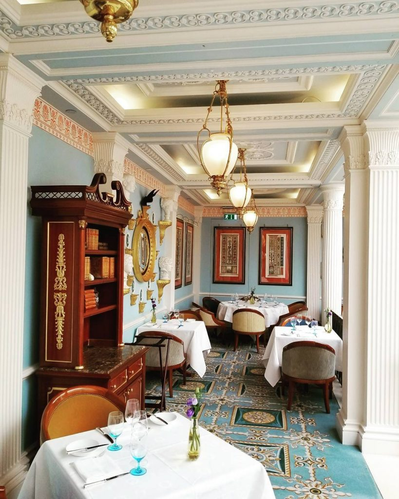 Michelin Starred restaurants of London - Celeste