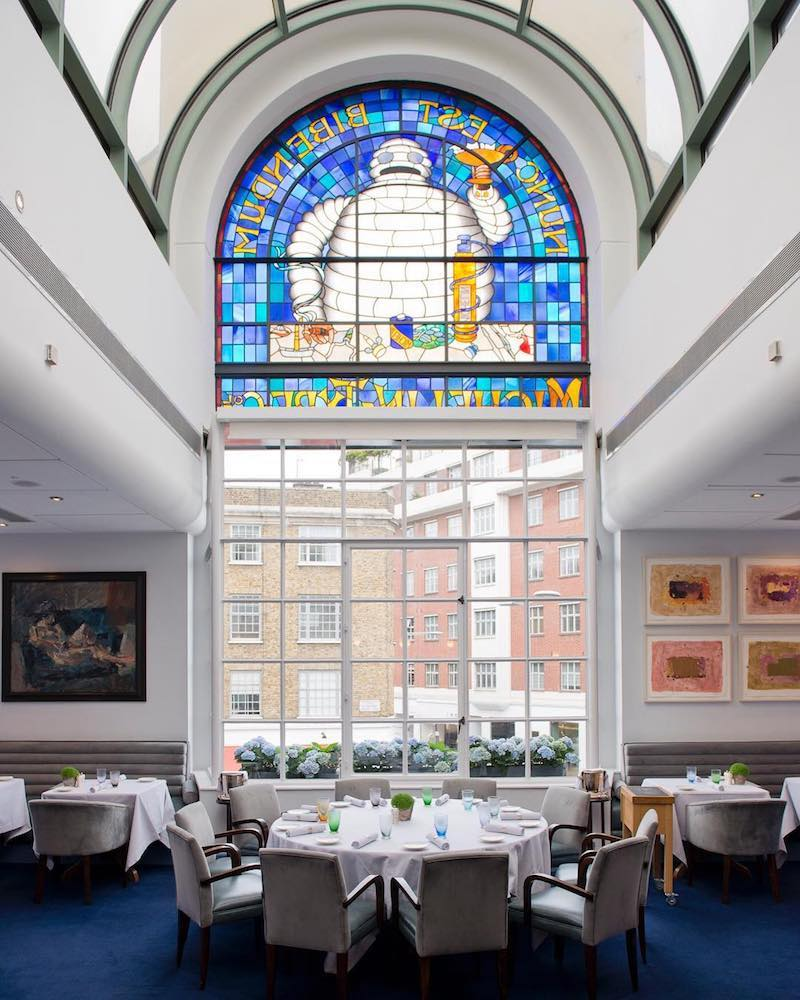 Michelin Star Restaurants Bibendum London