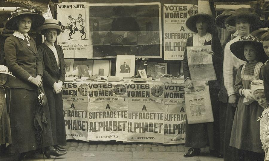 Suffragettes London