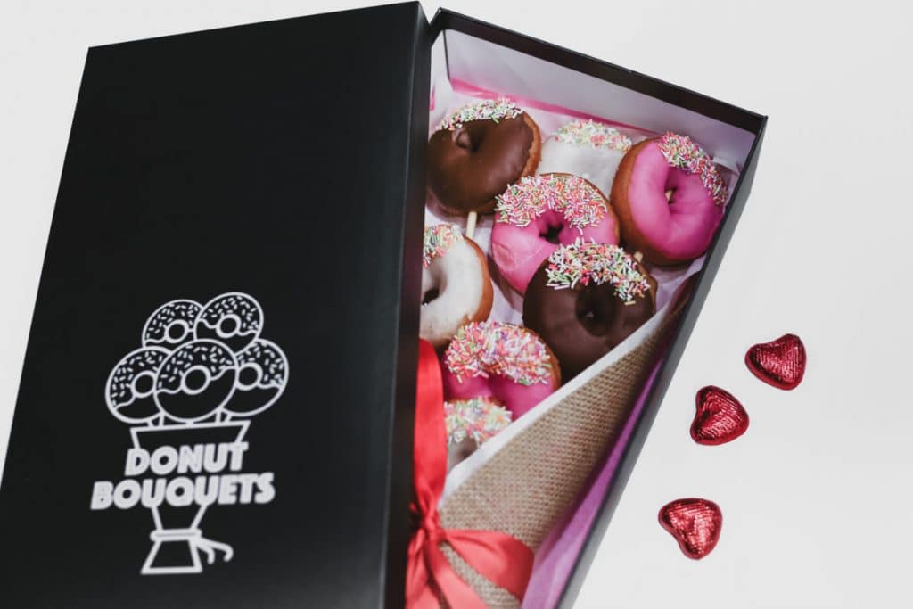 London Doughnut Bouquet
