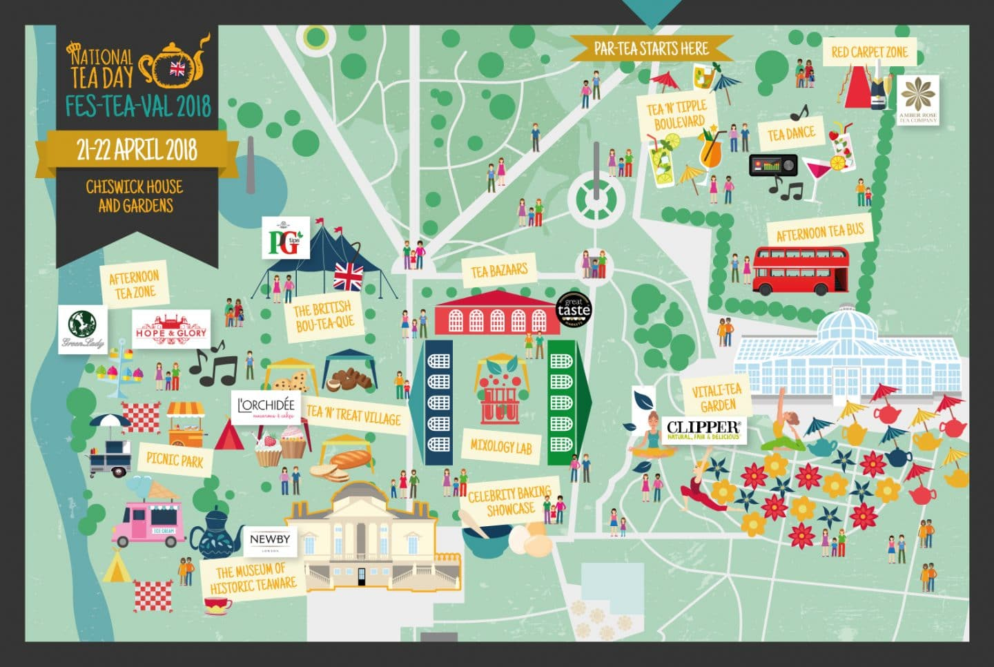 tea festival updated map