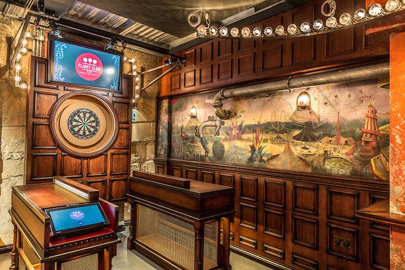 Darts in London - Flight Club Social