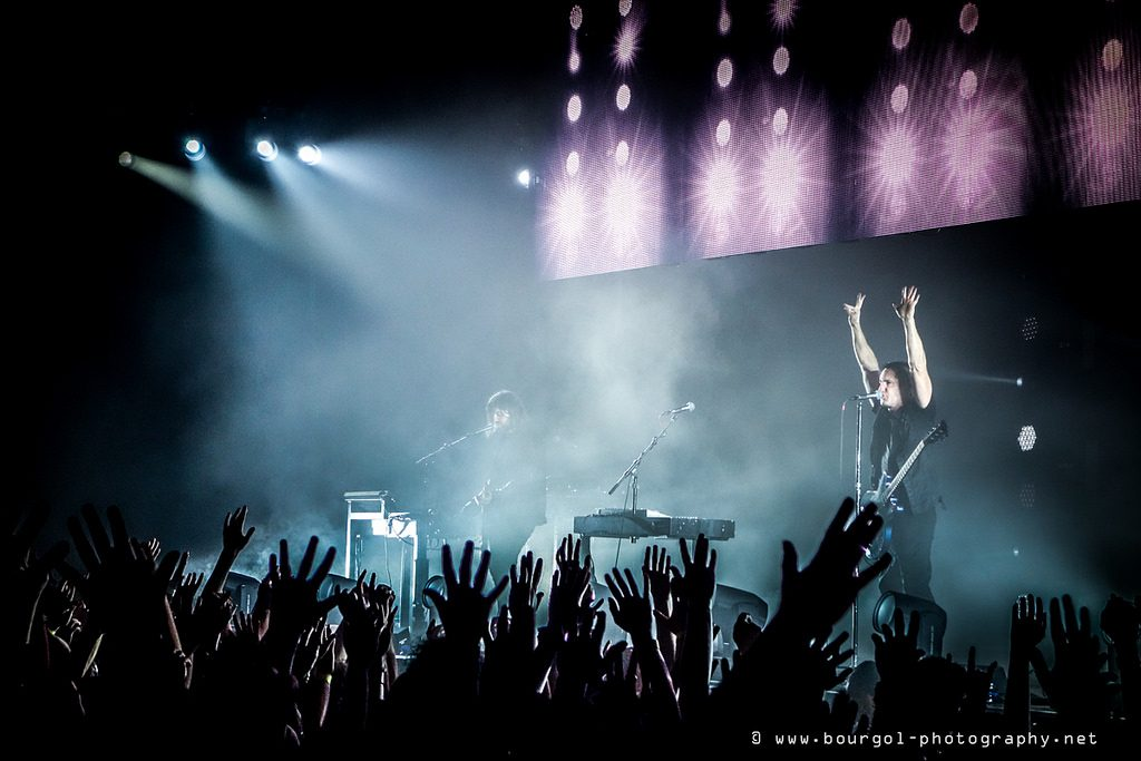 Nine Inch Nails Concert photo