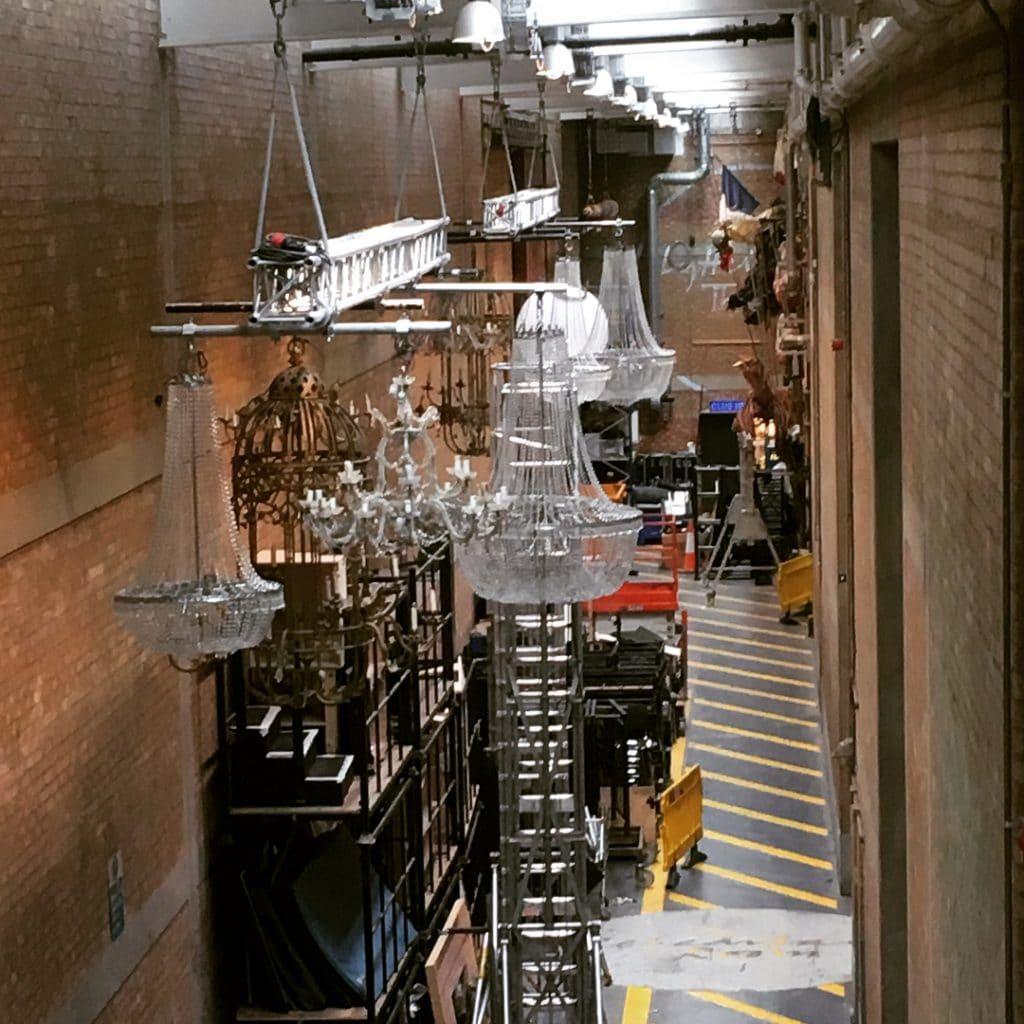 Sherling Backstage Walkway
