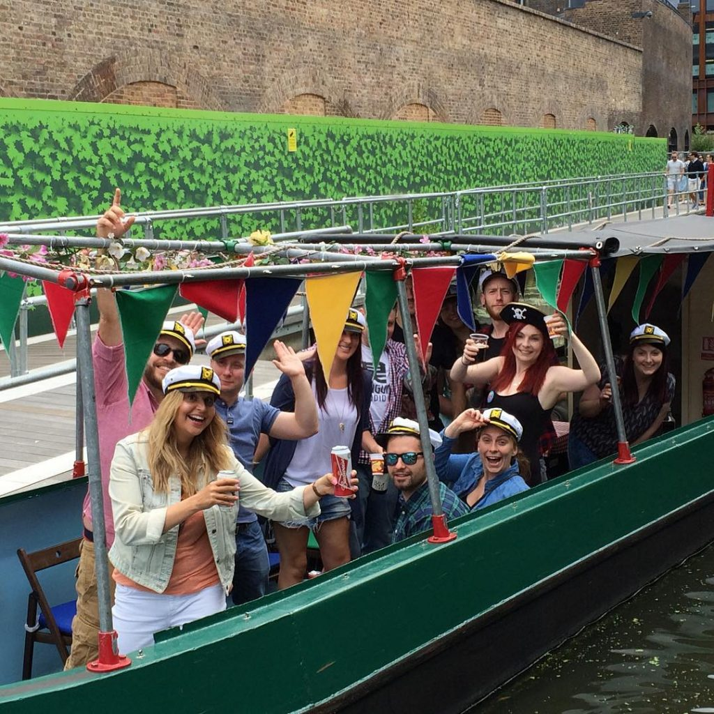 Boat trips in London - hire canal barge