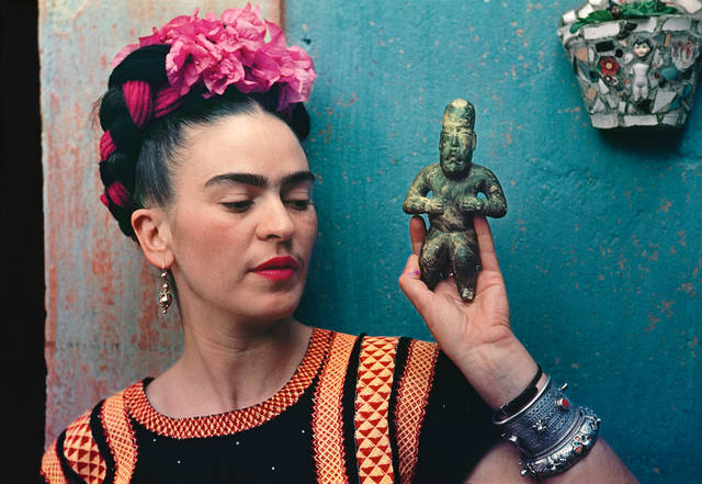 Frida Kahlo V and A museum London