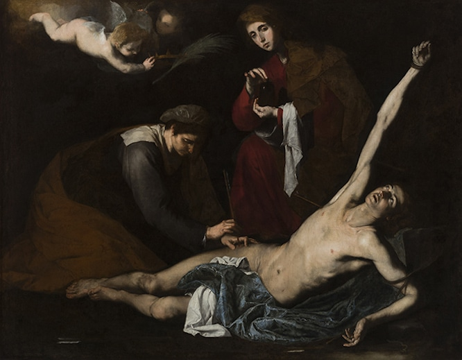London art gallery exhibitions Ribera