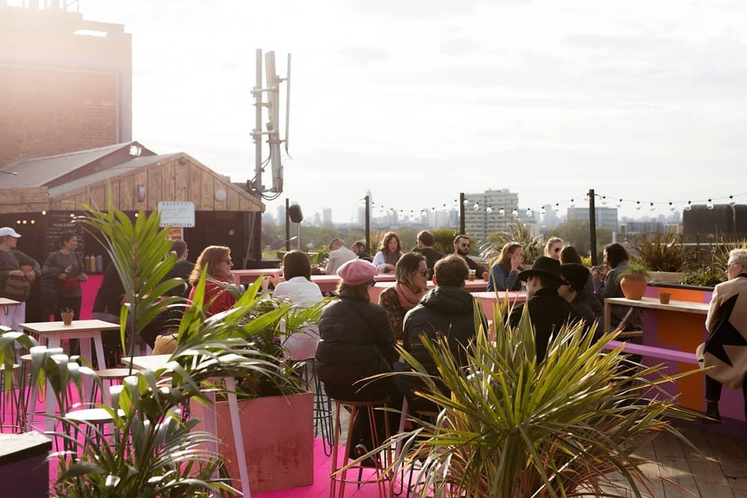 Peckham Rooftop Bar Bussey