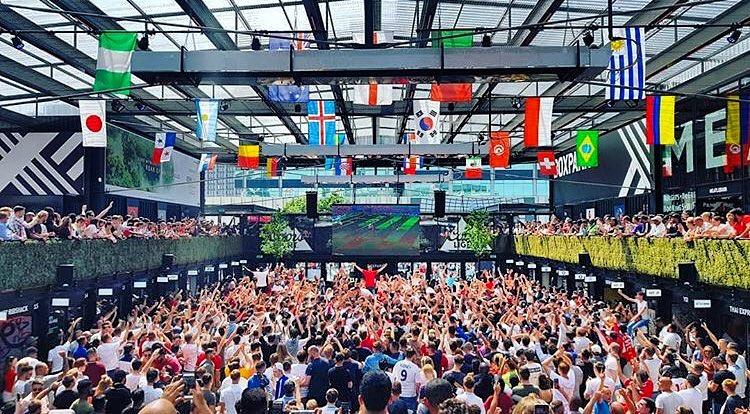 World Cup Screenings Box Park