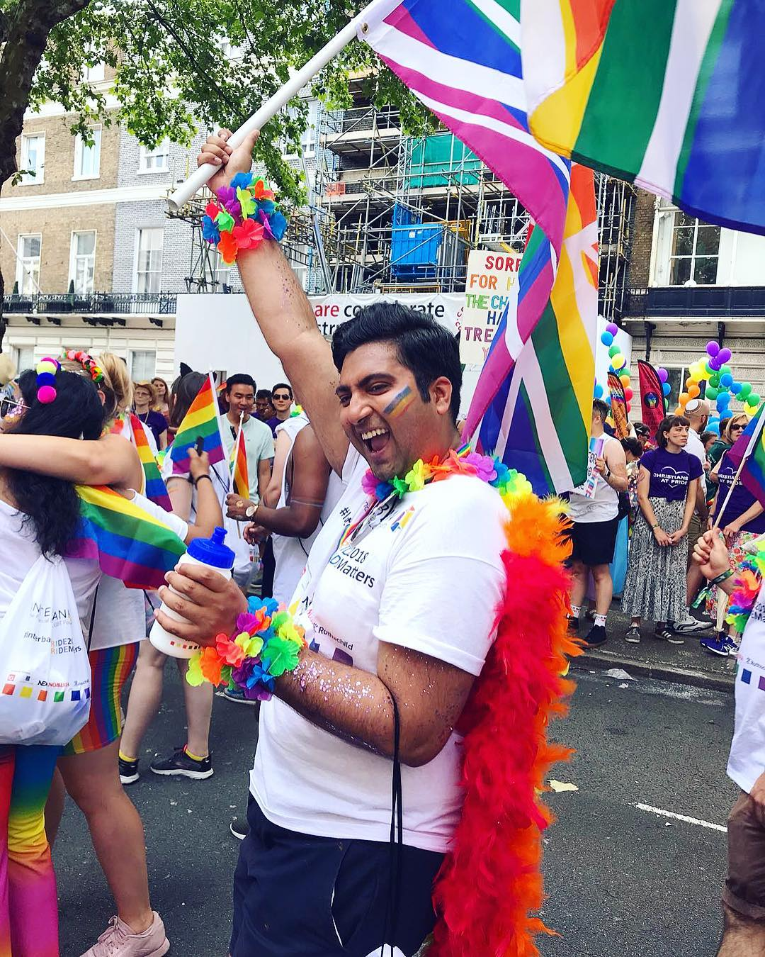 Pride london parade 2018 flag salmansamiali