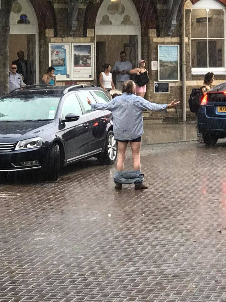 Weather London Rain Summer