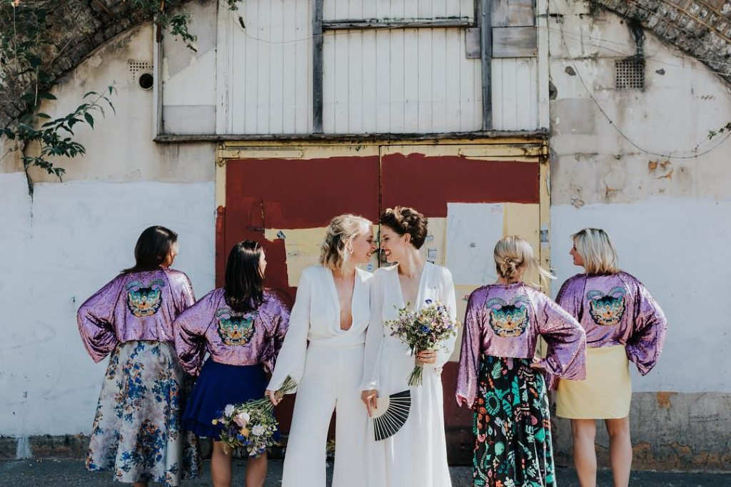 Bridesmaid Jackets London