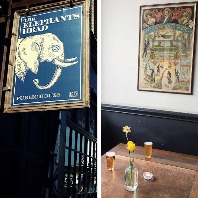 Elephant Head Windsor Castle Hackney