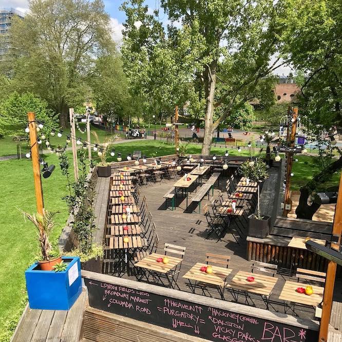 Hackney Pub On The Park