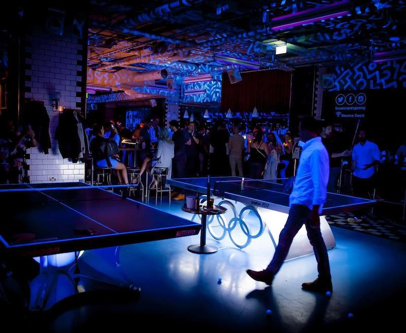 Bounce Ping Pong London