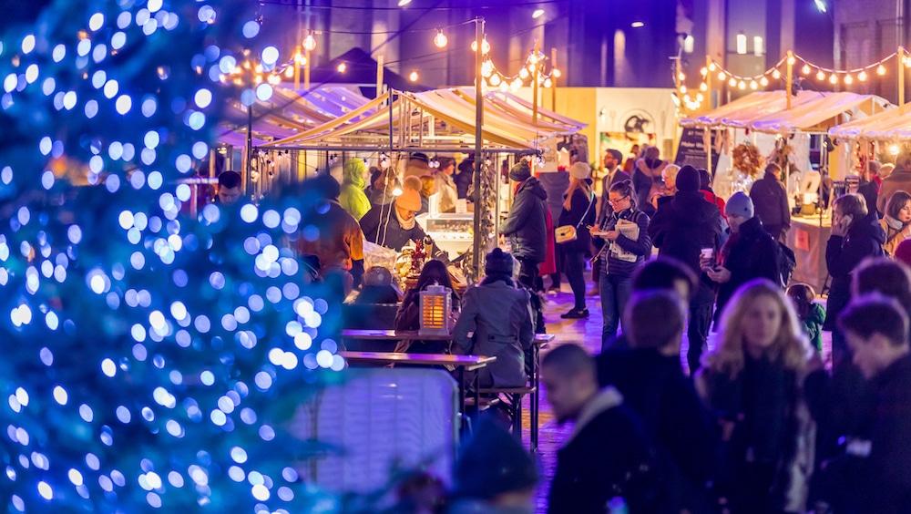 Christmas Canopy Market, King's Cross