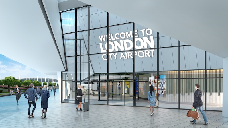 London City Airport New Terminal