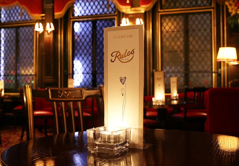 Rules London Oldest Restaurant